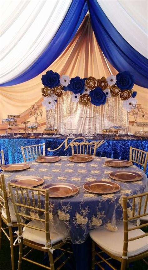 royal quinceanera quinceanera party ideas photo