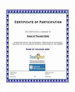 certificate of participation in workshop template With template for certificate of participation in workshop