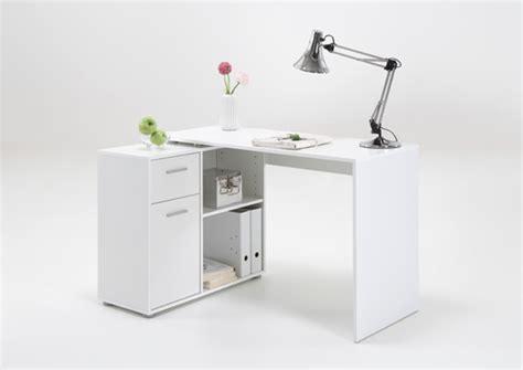 meuble bureau d angle bureau d 39 angle albrecht blanc