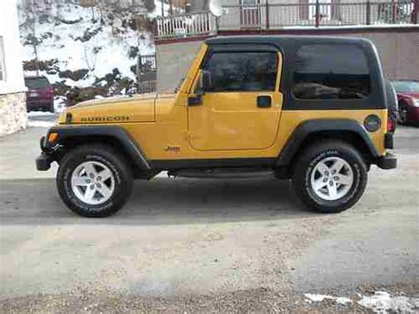 jeep convertible black sell used 2003 jeep wrangler rubicon 4x4 hard top 2 door