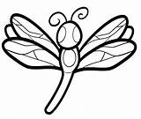 Dragonfly Coloring Dragonflies Pages Drawing Adult Template Sheets Adults Worksheets Clipart Wings Pond Cute Drawings Mandala Kindergarten Clipartmag Number sketch template