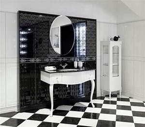 Déco Salle De Bain Noir Et Blanc : tendance du moment la salle de bain en noir et blanc blog deco salle de bain ~ Melissatoandfro.com Idées de Décoration