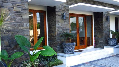 inspirasi model teras rumah minimalis sederhana