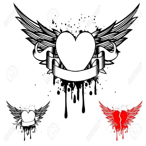 Tatouage Coeur Aile D Ange  Galerie Tatouage