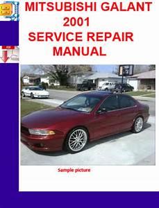 Mitsubishi Galant 2001 Service Repair Manual