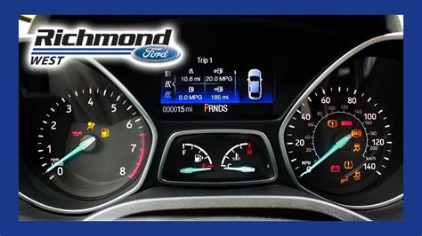 Ford Dashboard Warning Lights Meaning