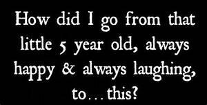Depressed And S... Non Depressing Quotes
