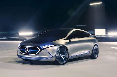 Mercedes-benz Eqa Concept Bows At Frankfurt