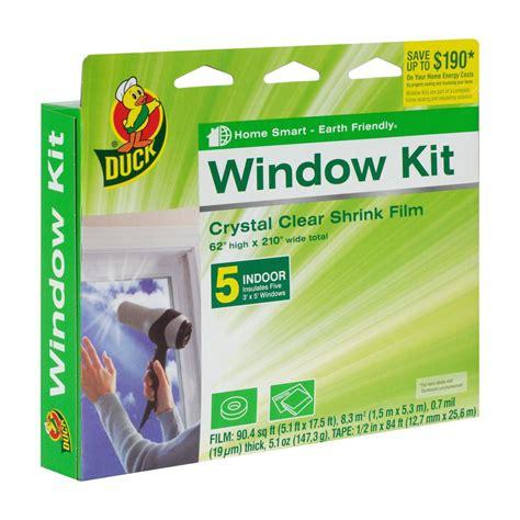 Window Sill Kit by Duck 62 In X 210 In Clear Window Shrink Kit