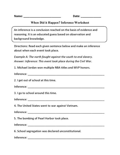worksheet inference worksheets pdf grass fedjp worksheet
