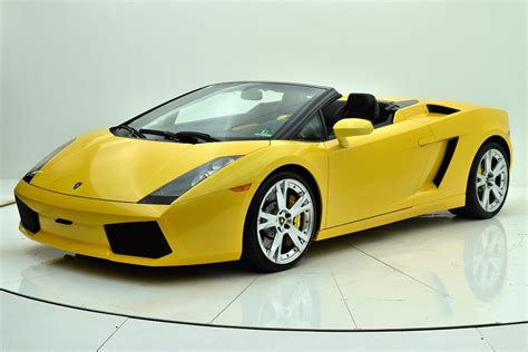 Used 2008 Lamborghini Gallardo Spyder For Sale ($113,880 ...