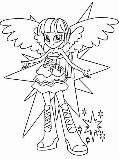 Coloring Pages Mlp Eg Mlpeg Printable Getcolorings