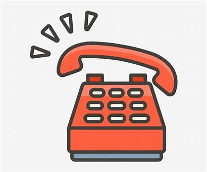 Emoji Phone Telephone Clipart Cell Icon Transparent