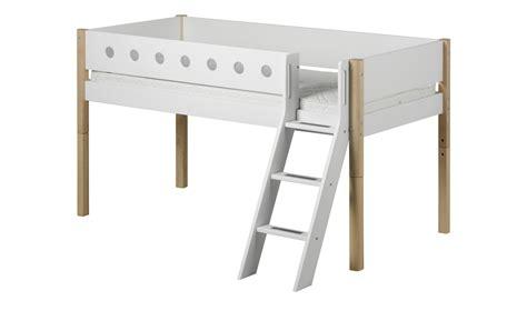 Flexa Halbhohes Bett Flexa White Breite 151 Cm Höhe 120