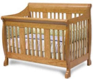 nursery convertible sleigh bed crib furniture plans ebay