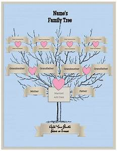 picture of family tree template - free family tree template customize online then print