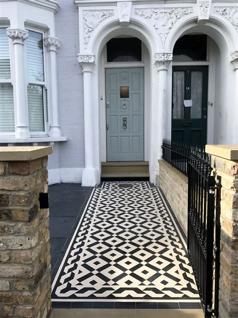 london victorian mosaic tile path london london garden