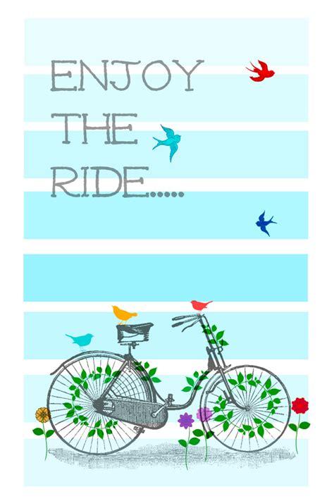 enjoy  ride printable creative cain cabin