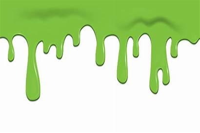 Slime Vector Down Frame Oozing Flowing Seamless