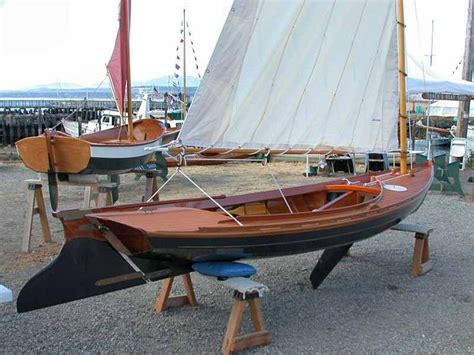 melonseed skiff american google search wooden sailboat