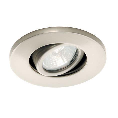 Gimbal Ring Miniature Recessed Task Light Wac