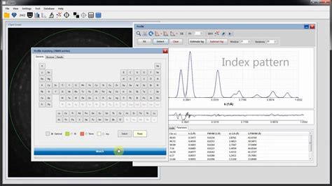 indexing tem ring diffraction patterns  cspot youtube