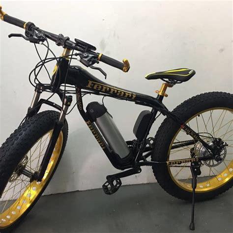bike electric bike bicycle ferrari motorbikes  carousell