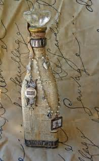 Vintage Wine Bottle Craft Ideas