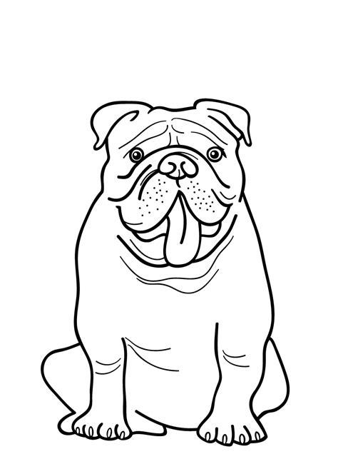 Franse Lelie Kleurplaat by Kleurplaat Hond 64 Gratis Allerleukste Honden Kleurplaten