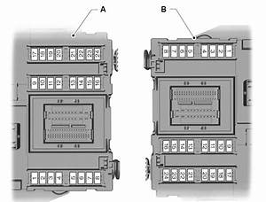 Ford Mondeo  01  02  2007 - 19  08  2007  - Fuse Box Diagram  Eu Version
