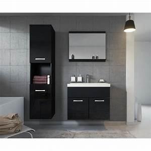 Meuble Salle De Bain Discount : meuble de salle de bain armoire montr al armoire de rangement meuble lavabo vier lavabo noir ~ Teatrodelosmanantiales.com Idées de Décoration