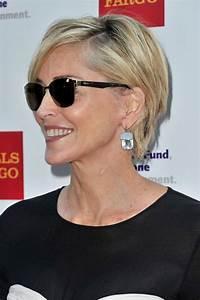 Les 25 meilleures idées concernant Cheveux Sharon Stone ...
