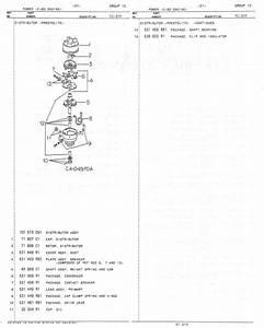 Cub Parts Manual