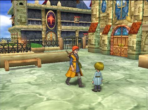 dragon quest viii journey   cursed king screenshots