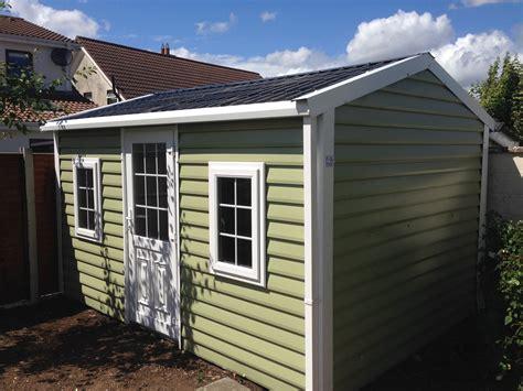 Builders Shed by Aspen Shiplap Garden Building Range Uses Pvc Coated
