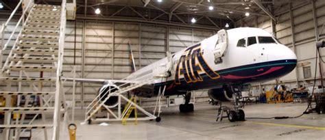 aircraft maintenance hangar more ata airlines
