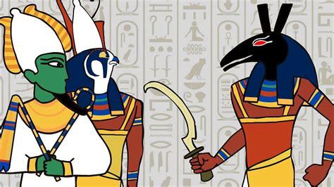 Egyptian Gods Animation