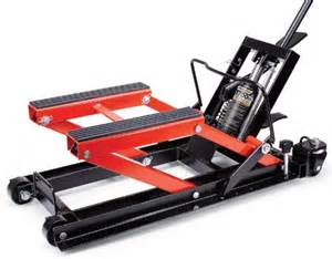 powerzone 380047 1700 lbs hydraulic motorcycle and atv