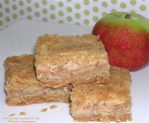 la cuisine de no駑ie dans la cuisine de blanc manger carrés aux pommes
