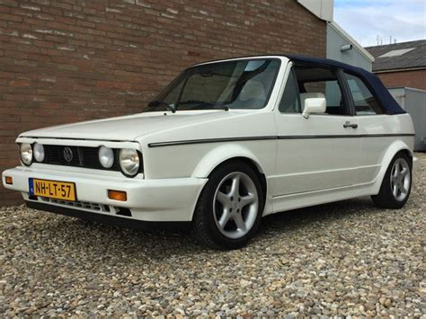 vw golf 1 cabrio volkswagen golf 1 cabrio 1 8 injection karmann 1988