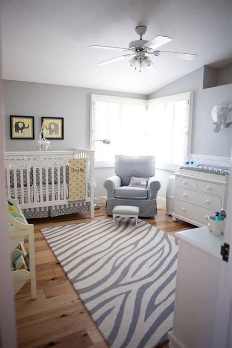 deco chambre bebe blanc et gris