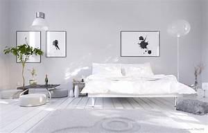 Wandfarbe Grau Schlafzimmer : kolorat ~ One.caynefoto.club Haus und Dekorationen