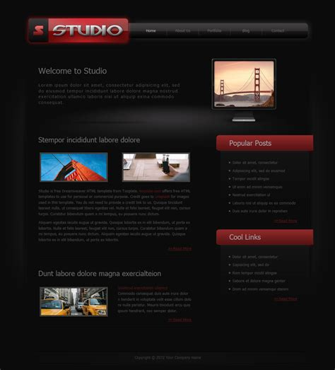Free Templates Studio Free Templates