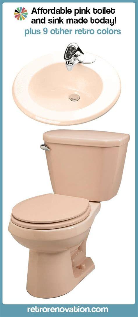 Colored Bathroom Fixtures by New Bathroom Fixtures In Pink Retro