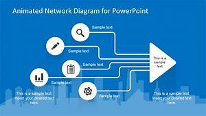 Animated Network Powerpoint Slide Design
