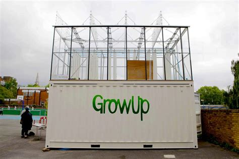 growUP box: an aquaponic shipping container farm