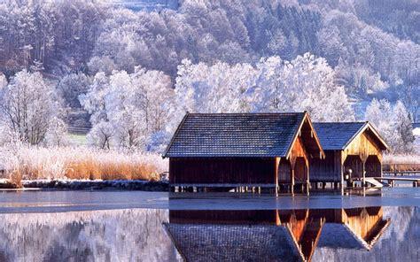 winter scenery desktop wallpaper wallpapersafari