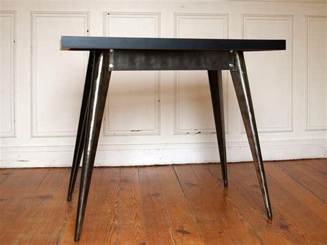 pieds bureau table tolix pieds métalliques plateau formica jpg