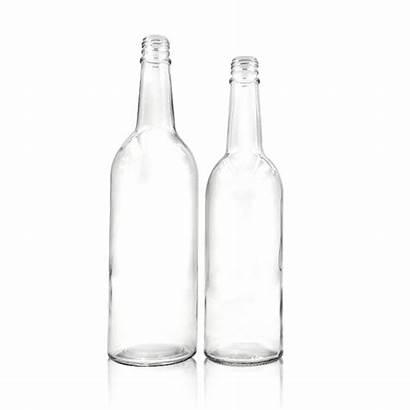 Bottle Empty Liquor Glass Liter Metal Lid