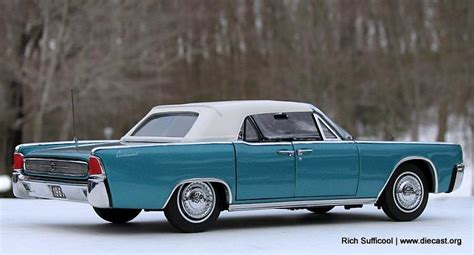 franklin mint   lincoln continental convertible